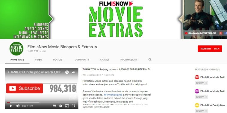 FilmIsNow Movie Bloopers