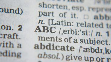 dizionario di youtube
