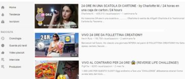youtube trends 24 ore