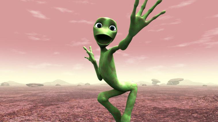 Video Alien Dance Challenge