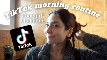 tiktok morning routine