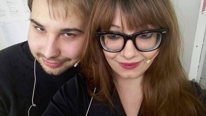Barone Mark Kheel e Giulia Segreti